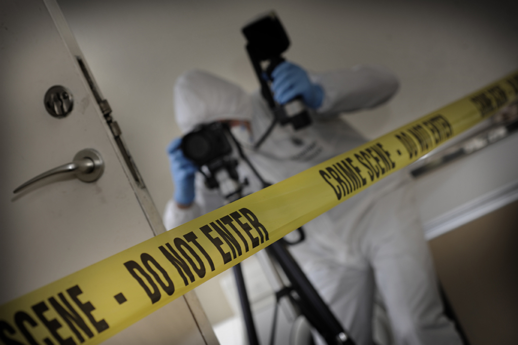 a crime scene Protecting the crime scene is crucial to any investigation nowadays, mobile forensic science units are working at the district level in rajasthan, india, so that forensic experts can reach the scene of the crime as early as possible.