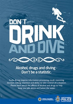Don't Drink and Dive Image