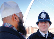 An image of an Officer in Gateshead Area Command