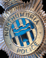 Northumbria Police badge