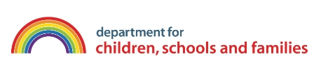 Department for children, schools and families logo
