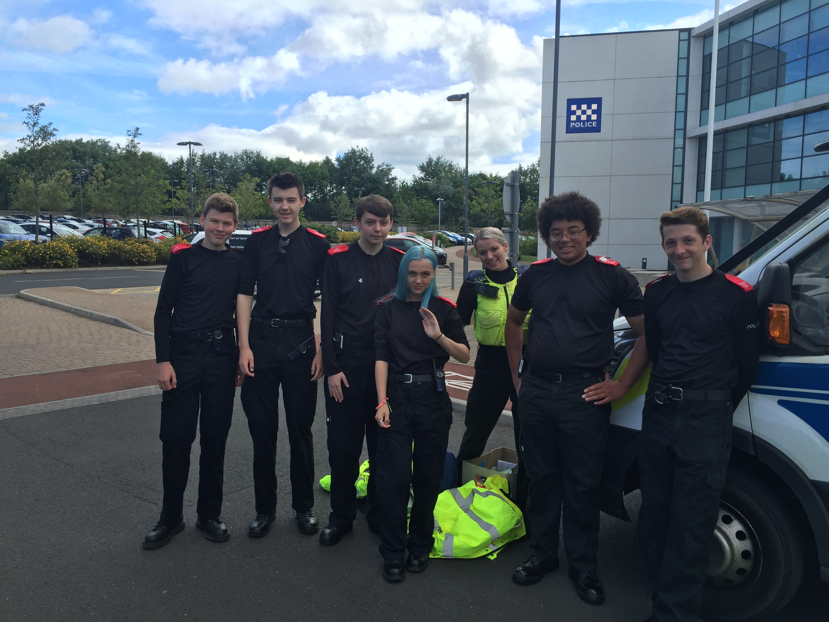 Cadets in North Tyneside