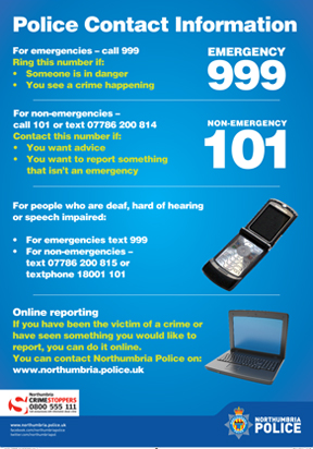 Police Contact Information